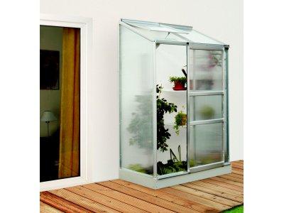 skleník VITAVIA IDA 900 PC 4 mm stříbrný