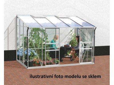 skleník VITAVIA IDA 6500 PC 4 mm stříbrný
