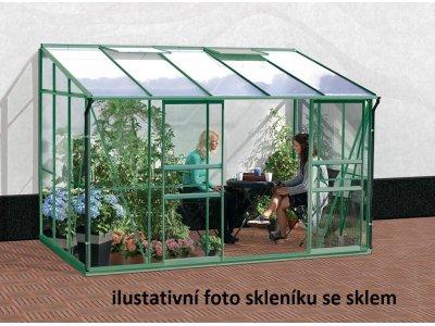 skleník VITAVIA IDA 6500 PC 4 mm zelený
