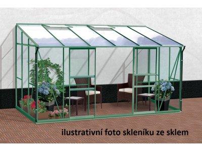 skleník VITAVIA IDA 7800 PC 4 mm zelený