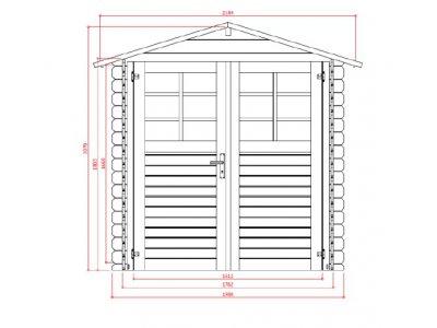 zahradní domek LANITPLAST RAFAEL 218 x 200 cm - příloha