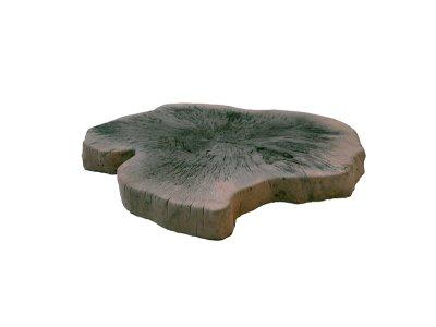 šlapák velký imitace dřeva