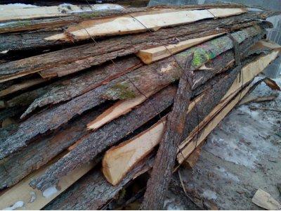 dřevěné odkory 2bm DUB