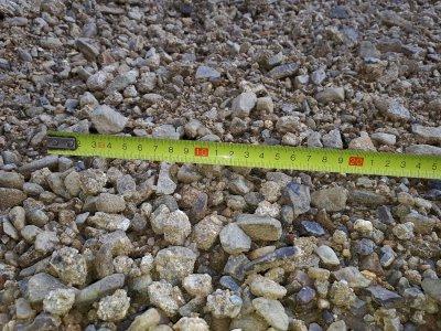 LOM ONDRATICE-směs těženého kameniva TK 0/ 32mm