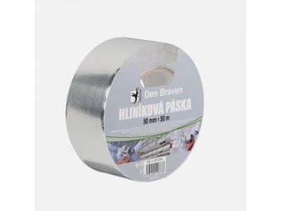 hliníková páska 50mmx50m stříbrná
