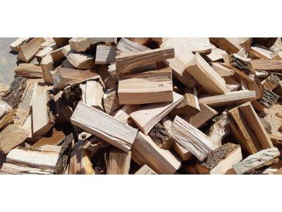 palivové dřevo mix BUK,DUB, JASAN řezané 20-30cm/1 prms štípané - Dub, buk 2.jpg