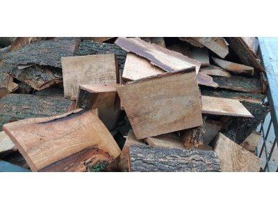 Palivové dřevo DUB ODKOR PŘÍŘEZY do 25 cm