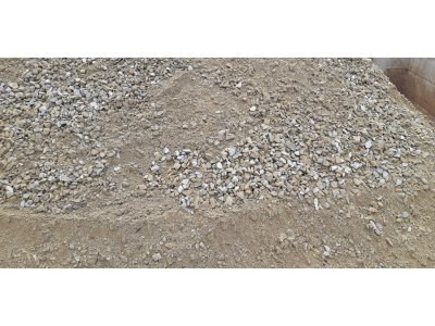 směs drceného kameniva 0/32 lom Luleč - Směs 0-32 Luleč.jpg