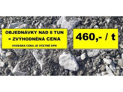 směs drceného kameniva 0/63 lom Opatovice