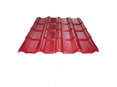 střešní krytina satjam GRANDE plus PE25 barva hnědá, červená, černá, antracit