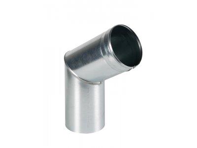 koleno výtokové pozink  80mm