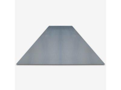 plech pozink rovný 1x2m / 0,55mm