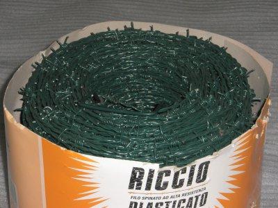 drát ostnatý zelený 50m/bal