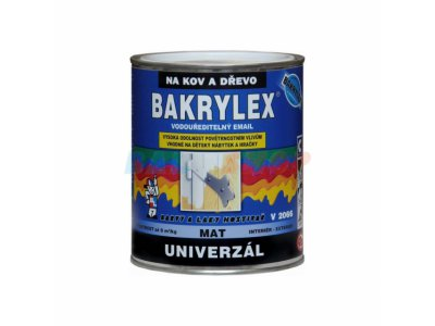bakrylex mat 0840 červenohnědá 0.7l