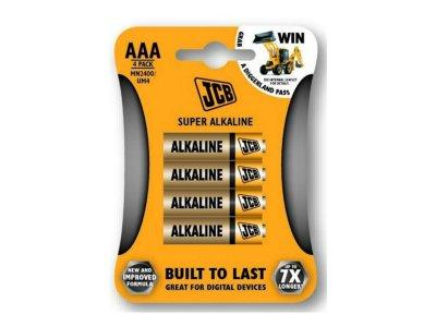 baterie Alkalická LR03/AAA 1.5V 4ks/bal mikro