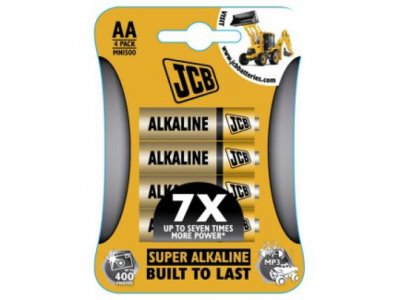 baterie Alkalická LR06/AA 1.5V 4ks/bal tužka