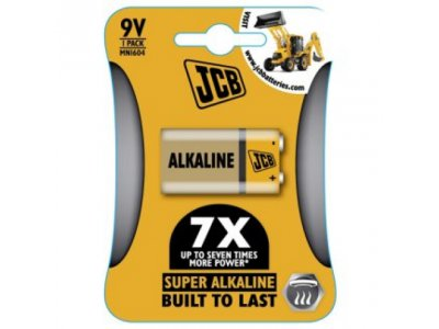 baterie Alkalická 6LR61 / 9V 1ks