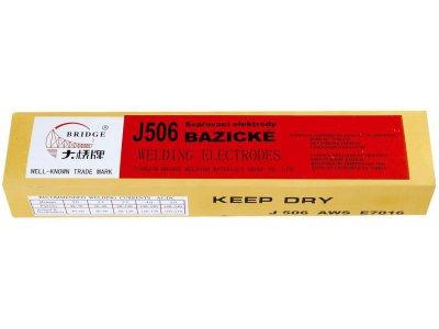 elektrody bazické 2,5mm 2,5 kg(J506)