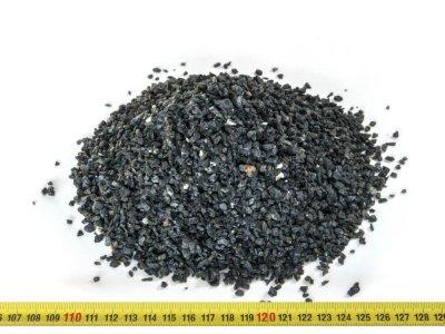 drť teracová černá 2-5mm 25kg