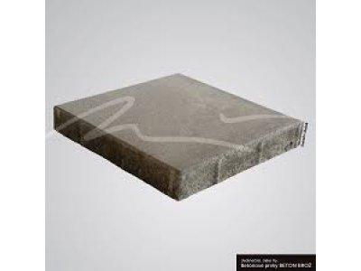 dlažba 50x50x5cm hladká šedá BROŽ