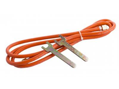 hadice pro hořáky délka 3m s koncovkami