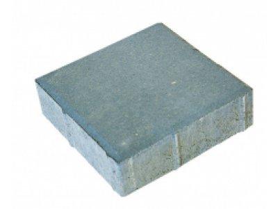dlažba 20x20x6cm kostka šedá Brož
