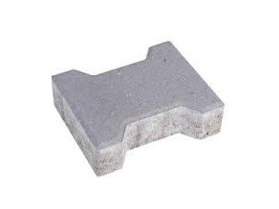 dlažba íčko 4cm šedá BROŽ (15m2/pal)