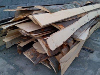 dřevěné odkory 4bm BUK