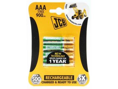 baterie NiMH AAA/R03 1000mAh 4ks/bal nabíjecí