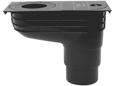 gajgr LSV DN 125mm přímý EN-PRO černá