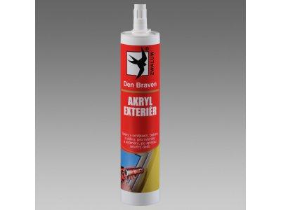 akryl exterier šedý 310ml