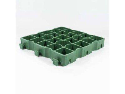 zatravňovací panel PVC 33x33x4cm zelený