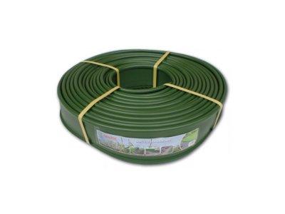 trávníkový lem plochý 125mmx18m  zelený