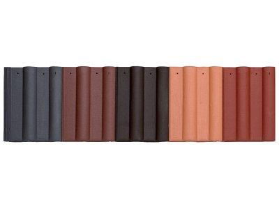 betonová taška BESK EXTRA - matná povrchová úprava