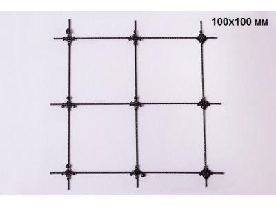 kompozitní kari síť oko 100x100 / 3mm role 0,75 x  3m